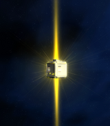 A lock box available as loot in space