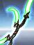 Nanopulse Edge Bat'leth (Retro Style) - Green icon.png