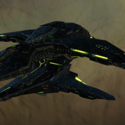 Elachi Sheshar Intel Dreadnought Cruiser