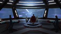 A DSC Starfleet character responding to a distress call
