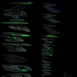 Romulan playable starship