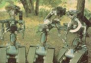 Three Stooges robots in Short Circuit