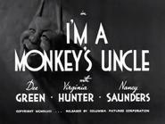 I'm a Monkey's Uncle