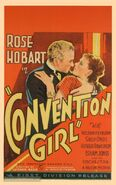 Convention Girl 1935 Poster