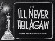 I'll Never Heil Again