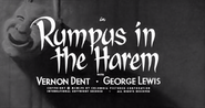 Rumpus in the Harem