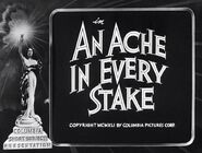 An Ache in Every Stake