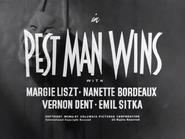 Pest Man Wins title card