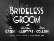 Brideless Groom