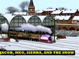 Jacob, Meg, Sierra, and the Snow