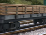 Flatbeds, Conflats and Well Wagons