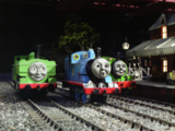 Thomas and the Ghost Engine