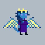 Dhalia Thoravine Tiefling Dragon Wings