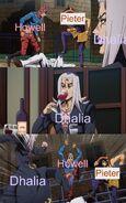 10. Dhalia joins the battle