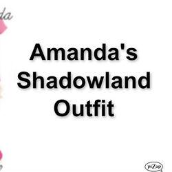 Amanda's Shadowland Outfit