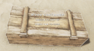 Wood container