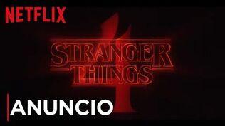 Stranger Things 4 - Anuncio oficial