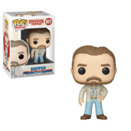 Hopper Funko Pop Season 3