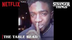 Stranger Things 4 The Table Read