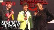 Gaten Matarazzo & Noah Schnapp Stranger Things 3 Premiere Netflix
