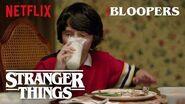 Stranger Things Season 1 Bloopers Netflix