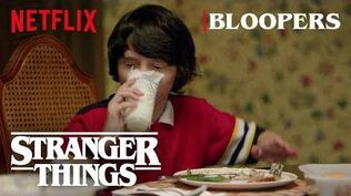Stranger Things Season 1 Bloopers Netflix