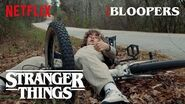 Stranger Things Season 2 Bloopers Netflix