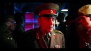 Ozerov staring at them