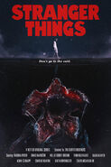 Stranger Things Retro Poster 4