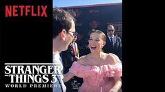 The_Curiosity_Carpet_with_Mr._Clarke_-_Stranger_Things_3_Premiere_-_Netflix