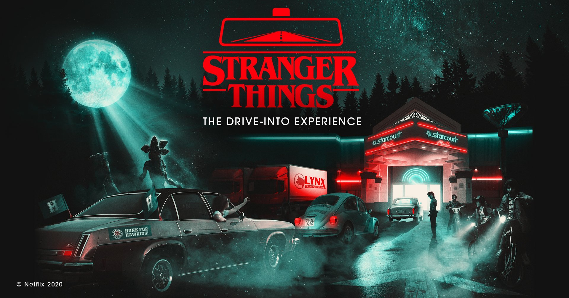 Stranger Things The Drive-Into Experience