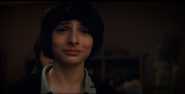 Mike is surprised to see Eleven