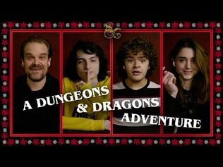 A Dungeons & Dragons Adventure - Stranger Things