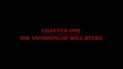 The Vanishing of Will Byers