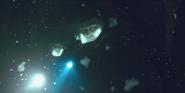 The Upside Down - Hopper in hazmat suit
