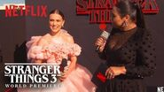 Millie Bobby Brown Stranger Things 3 Premiere Netflix