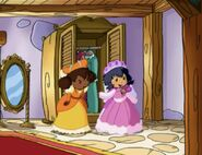 Orange blossom and Ginger snap as the Wicked stepsisters