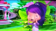 Plum crying