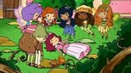 Tangerina rainbow ginger apple and others as a fairy