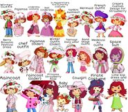 Every Strawberry Shortcake Outfit