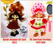 Early strawberry cards