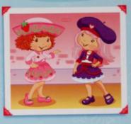 Crepe and Strawberry Polaroid