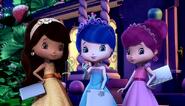 Three berry princesses