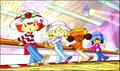 The Berry Girls dancing