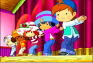 The five in a dance group