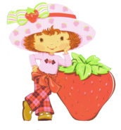 Pnghut strawberry-shortcake-paper-doll-sticker-album