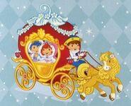 Strawberry Blueberry princess ride