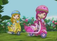 Lemon and raspberry racing