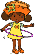 Hula hoop orange