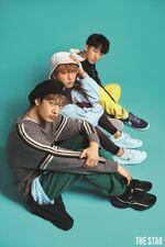 Bang Chan Han Changbin The Star Magazine May 2018 (1)